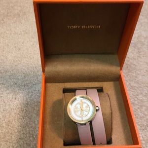 Authentic Tory Burch pink watch.